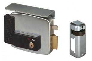 Elettroserratura per Serramenti Metallici E. mm. 80 dx Cisa art. 11721 | Dpsbrico.it - 25447