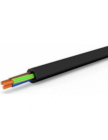 Cavo Elettrico Nero Tripolare Sezione 3x1 Matassa 100 Metri Mondini   Dpsbrico.it - 27730