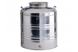 Fusto Olio in Acciaio Inox 50 Litri Sansone       | Dpsbrico.it - 28512